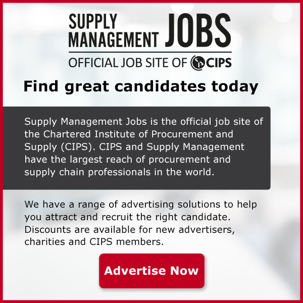 Find great candidates today. Supply Management Jobs is the official job site of the Chartered Institute of Procurement and Supply (CIPS). CIPS and Supply Management have the largest reach of procurement and supply chain professionals in the world. We have a range of advertising solutions to help you attract and recruit for the right candidate. Discounts are available for new advertisers, charities and CIPS members. Advertise now.